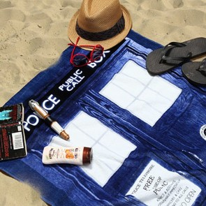 Doctor Who - TARDIS Beach Towel
