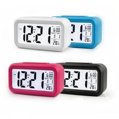 LCD Digital Desk Clock with...