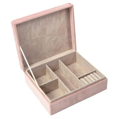 Velvet Jewellery Box