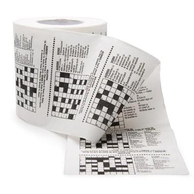 Crossword Toilet Roll