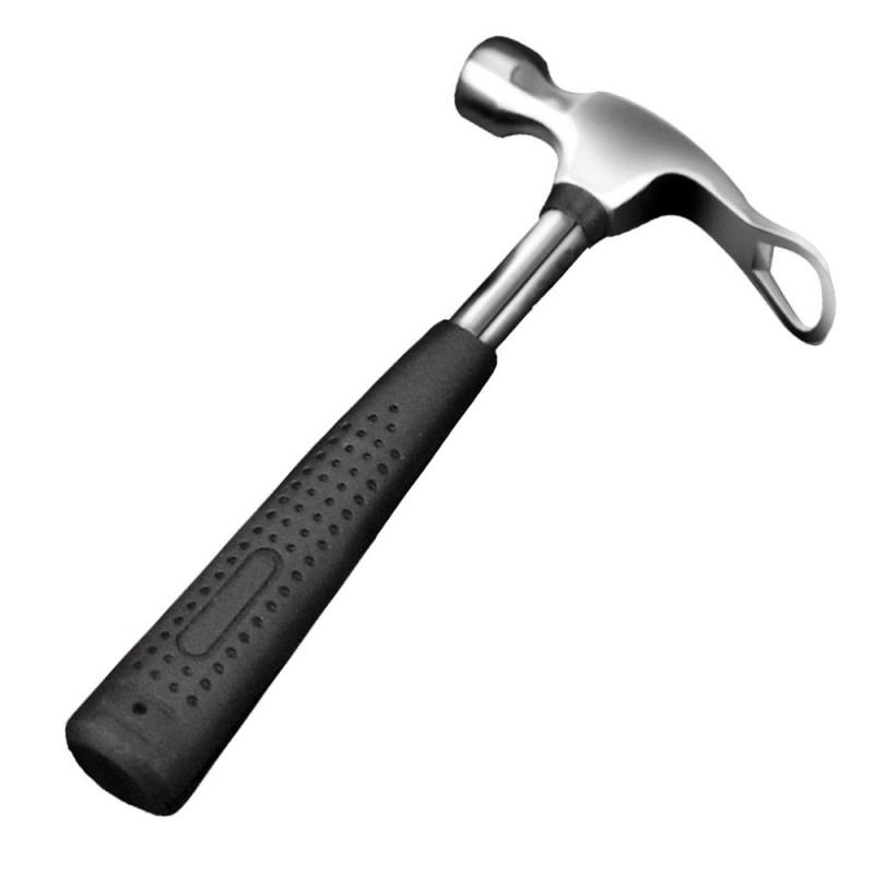 Stainless Steel Beer Hammer - Bottle Opener & Ice Crusher