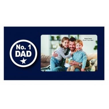 No. 1 Dad Photo Frame