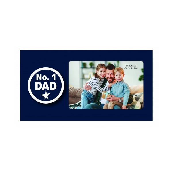 No. 1 Dad Photo Frame