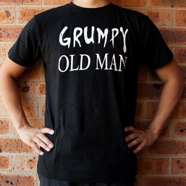 Grumpy Old Man T-Shirt