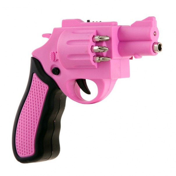 Pink Electric Gun Screwdriver