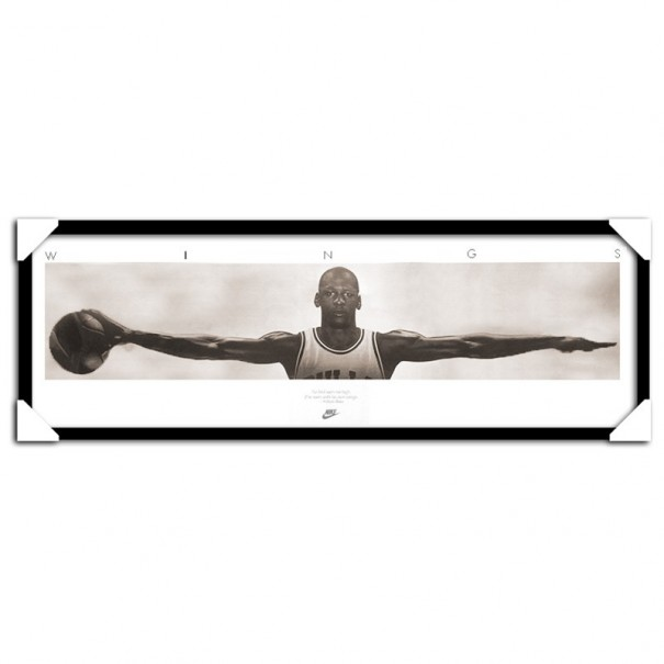 Michael Jordan Wings Framed