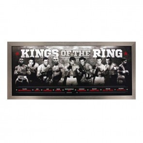 Kings Of The Ring Boxing Print Framed
