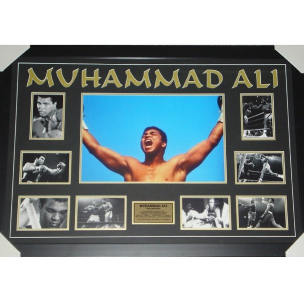 Muhammad Ali Collage Framed