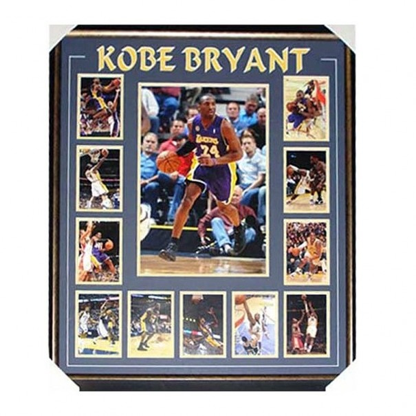 Kobe Bryant Framed Collage