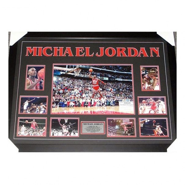 Michael Jordan Framed Collage