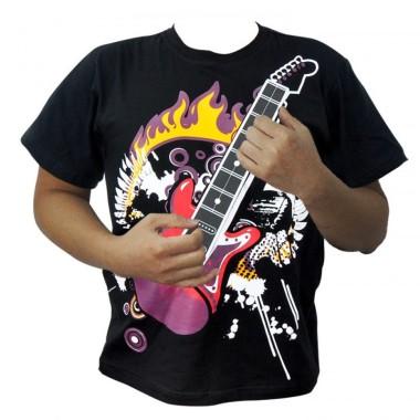Playable Electric Guitar T-Shirt