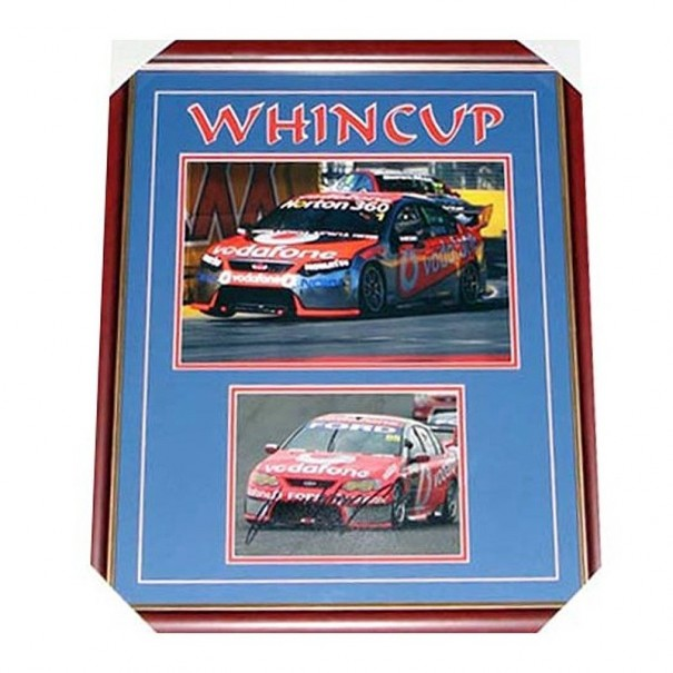 Jamie Whincup Signed Collage