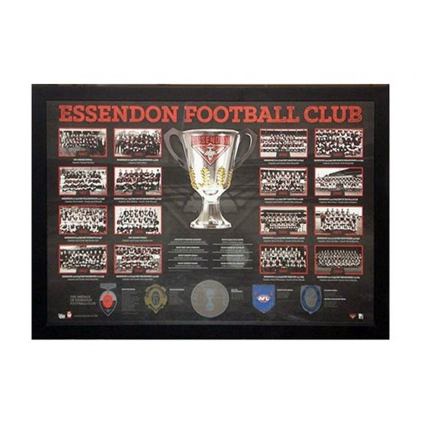 Essendon Football Club Historical Print Framed