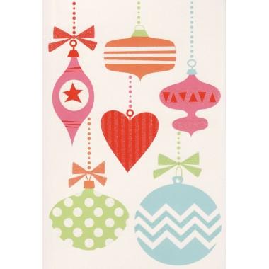 Christmas Ornaments Christmas Card