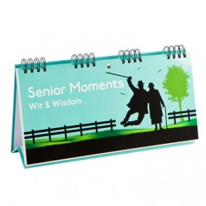 Senior Moments Wisdom Flip Book