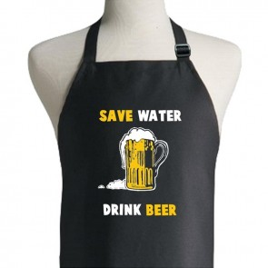 Save Water Drink Beer Apron