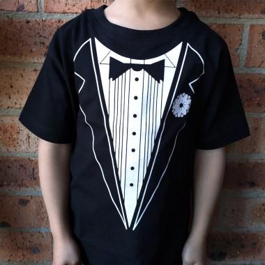 Kids Tuxedo T-Shirt