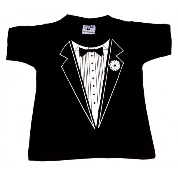 separation shoes elegant in style shop for official Kids Tuxedo T-Shirt