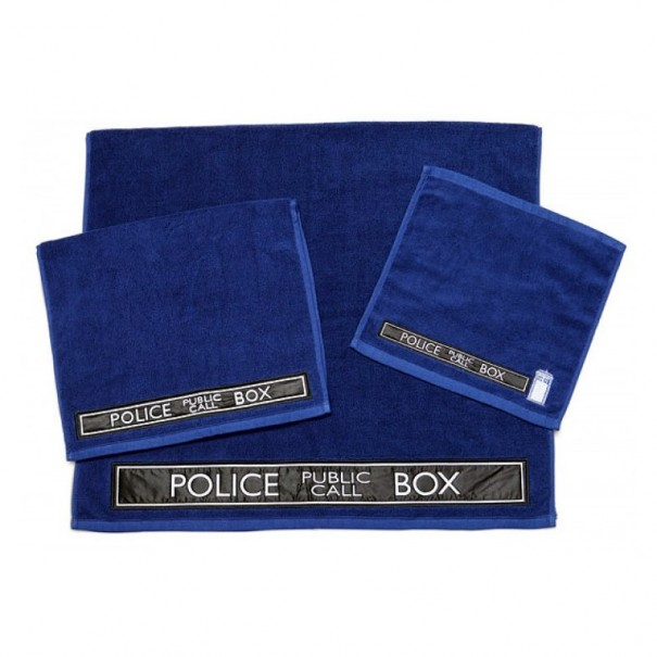 Doctor Who - TARDIS 3 Piece Towel Set