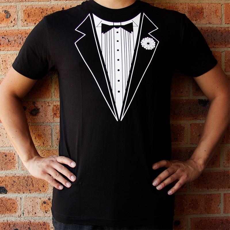 tuxedo shirt t shirt