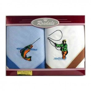 Men's Fishing Hankies by Rosdale