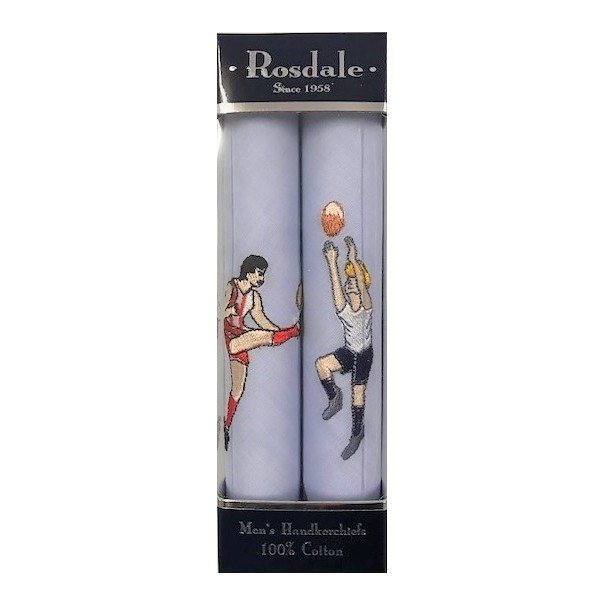 Men's Football Hankies by Rosdale