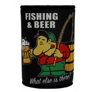 Fishing and Beer Stubby Holder
