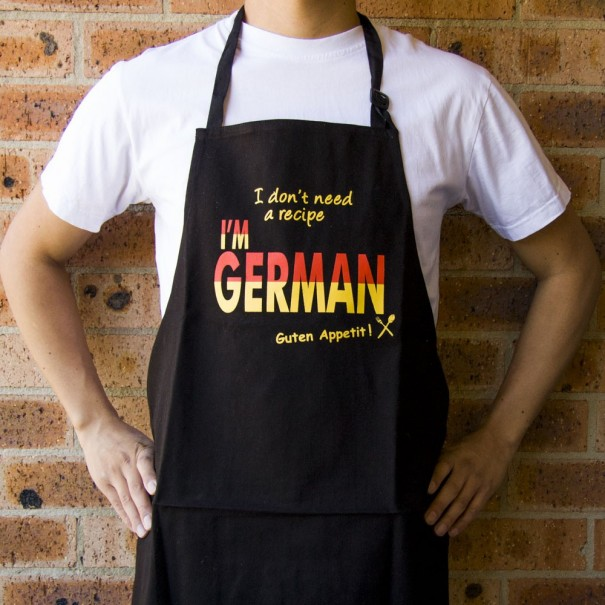 I Don't Need A Recipe I'm German Apron