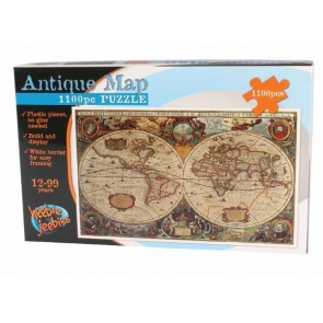 The Antique World Map  Jigsaw Puzzle 1100 pieces
