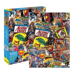 DC Comics Superman Retro Collage 1000pc Puzzle