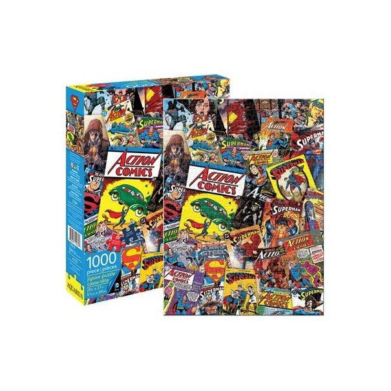 DC Comics Superman Retro Collage 1000pc Puzzle