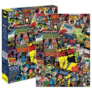 DC Comics Batman Retro Collage 1000pc Jigsaw Puzzle