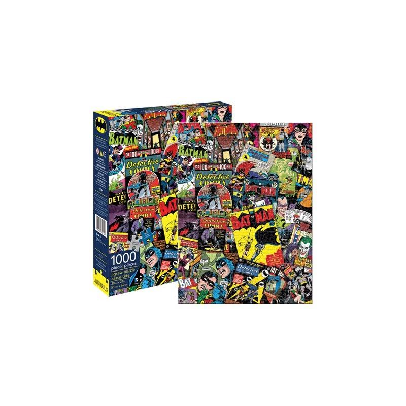 DC Comics Batman Retro Collage 1000pc Jigsaw Puzzle