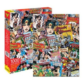 DC Comics Wonder Woman Retro Collage 1000pc Jigsaw Puzzle