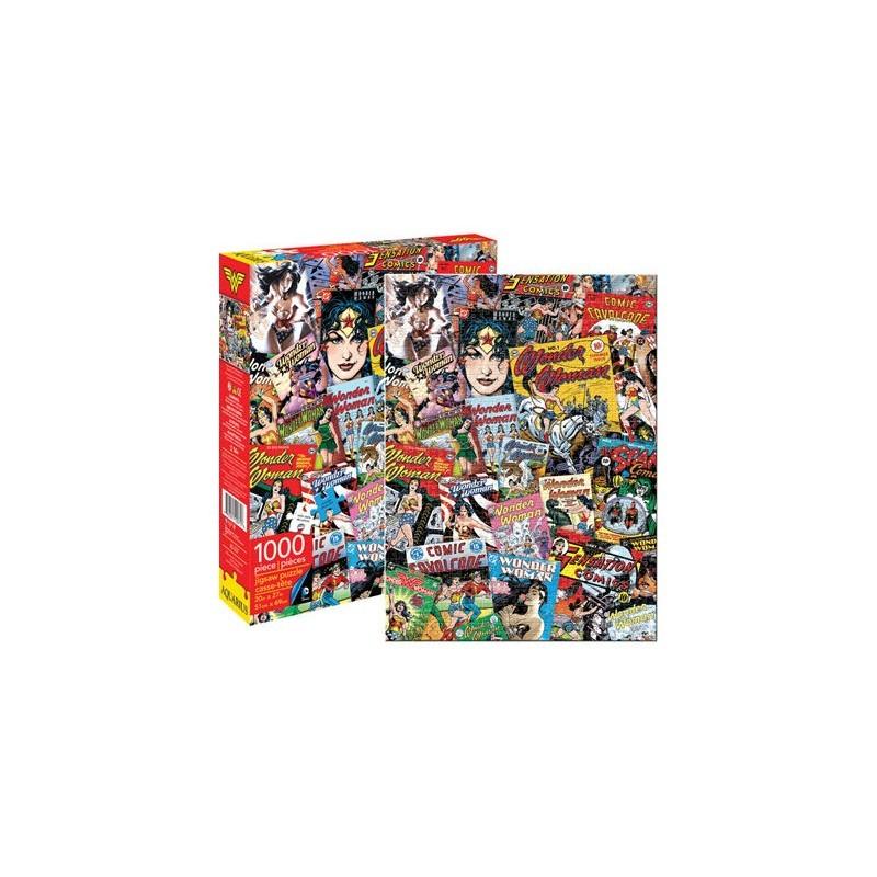 DC Comics Wonder Woman Retro Collage 1000pc Jigsaw Puzzle