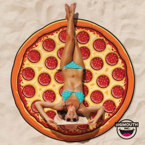 Gigantic Pizza Beach Towel