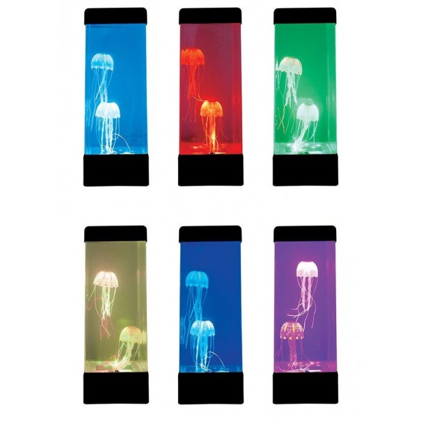 Luminous Jellyfish Tank Lamp as featured on Channel 10's The Living Room