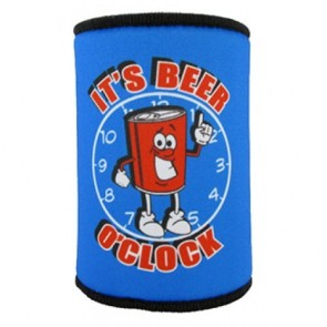 It's Beer O'Clock Stubby Holder