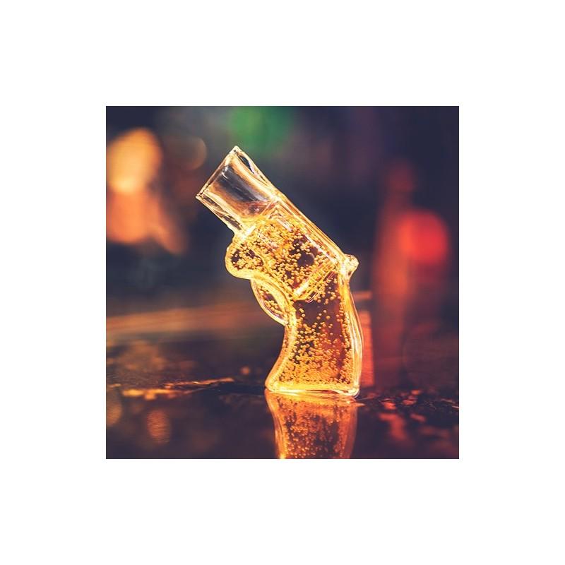 Revolver Shot Glass
