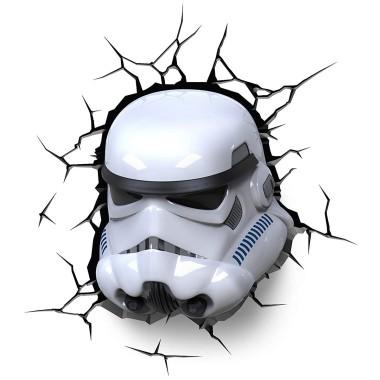 Star Wars - Stormtrooper 3D Wall Light