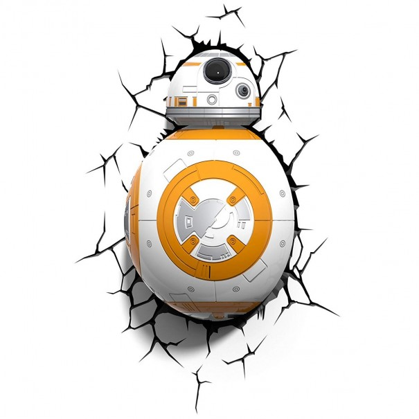 Star Wars - BB8 3D Wall Light