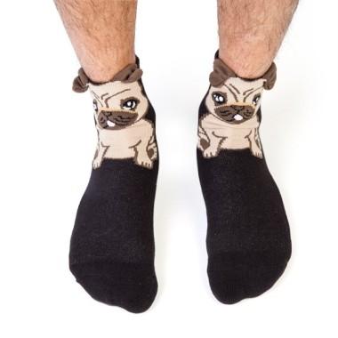 Pug Ruff Day Socks