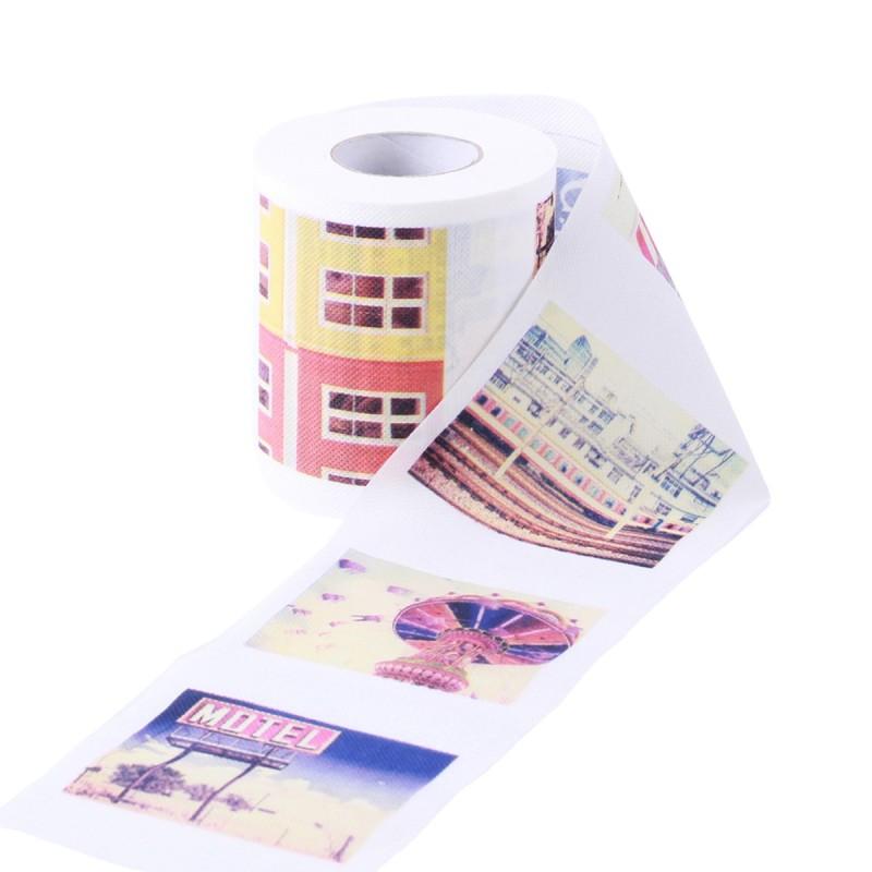 Polapaper Printed Toilet Roll