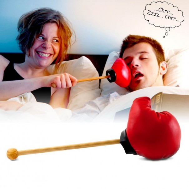 Snore Stopper Punching Glove