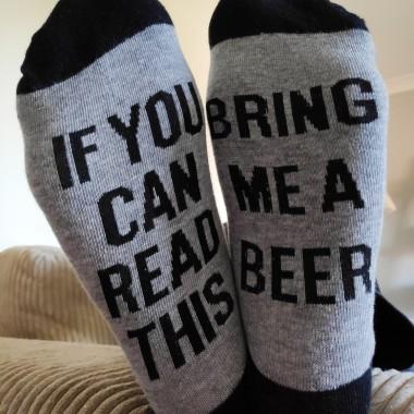 Bring Me Some Beer Socks