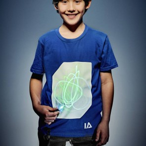 Interactive Glow in the Dark T-shirt for Kids