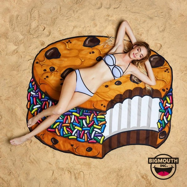 Gigantic Ice Cream Sandwich Beach Towel