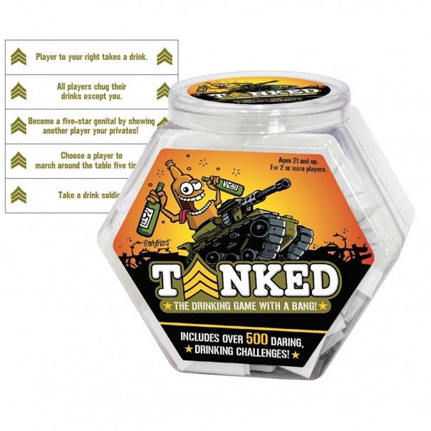 Tanked Game by IPartyHard