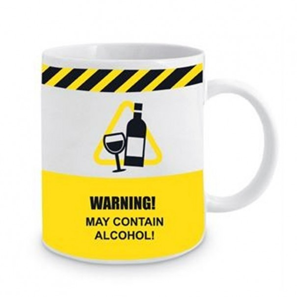 Warning! May Contain Alcohol! Mug