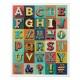 Alphabet 1000pc Jigsaw Puzzle by Ridleys